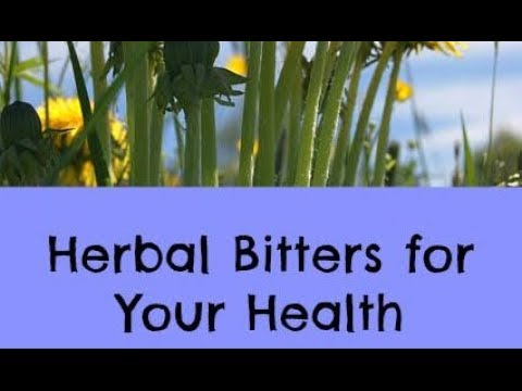 Herbal Bitters for your Health - Age Old Remedy for Digestion, Liver Function & Boost Metabolism
