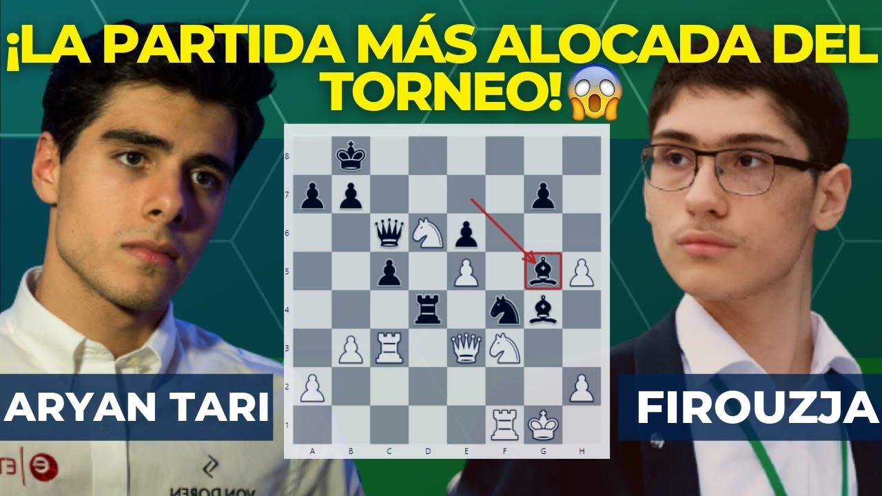 Download FIROUZJA Y TARI pelean por quién SACRIFICA más en la partida 🤟 |  Tata Steel Chess 2021