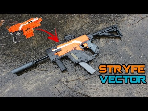 NERF Vector Kit Installation Guide - Quincy Stryfe Upgrades #1