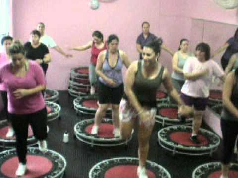 Pump It Up, Aula de Jump Academia Cia do Corpo, Profª Tici, turma 17hrs
