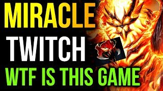 Miracle- Shadow Fiend Twitch Stream - WTF is This Game Dota2