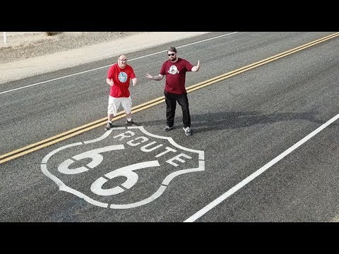 The Adventure Begins:  Route 66 Overload