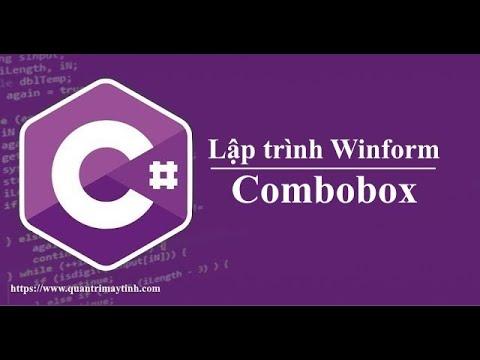 Lập trình C# winform - Combobox