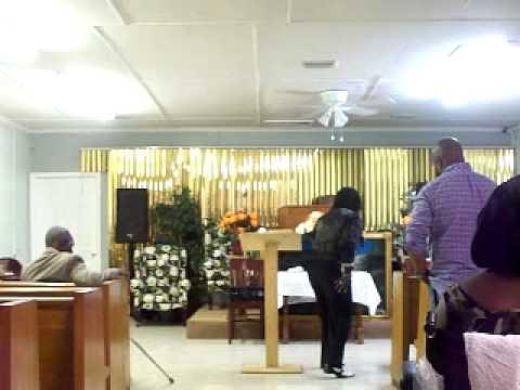APOSTLE E D LLOYD AT 2ND CHANCE COGIC AUG 21 2014 FT PIERCE FLA
