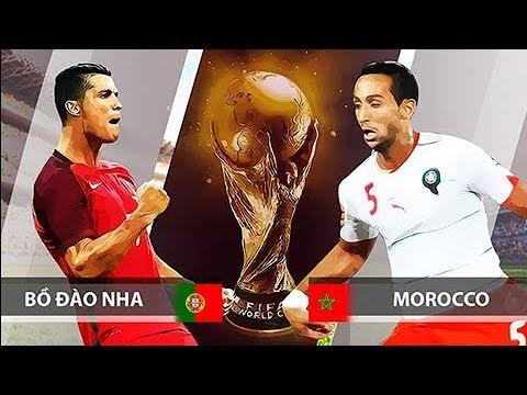 NHẬN ĐỊNH kèo trận Bồ Đào Nha vs Ma rốc World Cup 2018: Ronaldo TỎA SÁNG, Bồ Đào Nha thắng CÁCH BIỆT