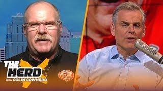 Chiefs have to 'stay humble,' talks winning Super Bowl, Mahomes' ceiling— Andy Reid | NFL | THE HERD