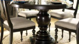 Paula Deen Home 5-pc Round Pedestal Dining Set In Tobacco