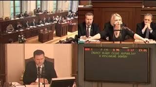 PS 160118 2. část Hlasování o důvěře vládě