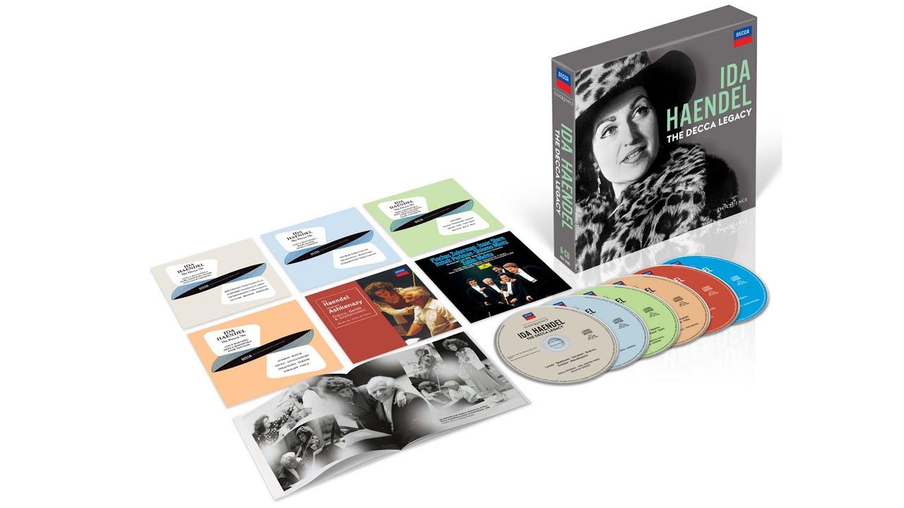 Eloquence Classics Release Batch 7 – Ida Haendel
