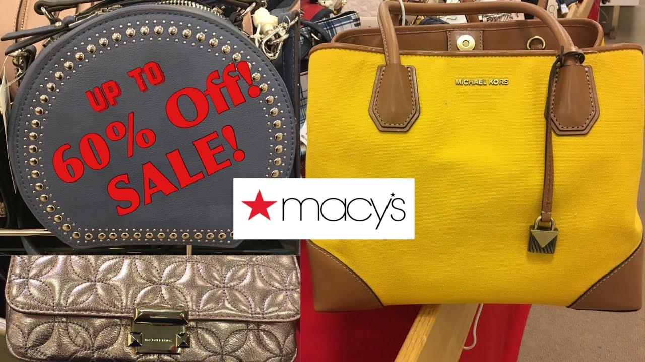 1c0fbe907be8 Macy's Handbags SALE SHOP WITH ME - YouTube