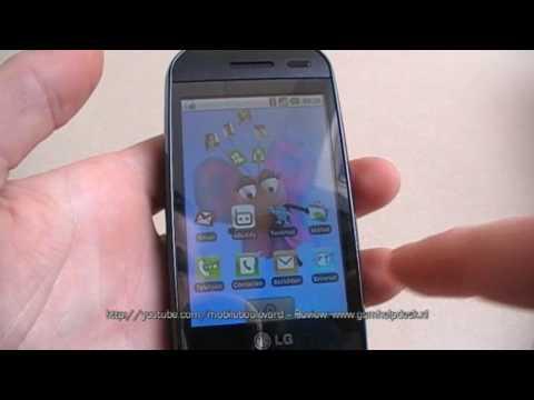 LG GW620 : Unboxing & Short Review