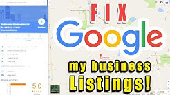 How to Delete Duplicate Google Maps My Business listings