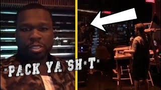 """50 Cent """"Fires 3 People On Set Of His"""