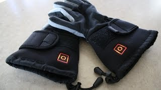 Thermogloves heated gloves review & demo