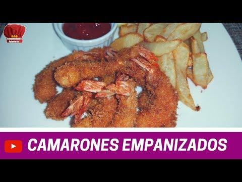 CAMARONES Empanizados con Panko receta- Complaciendo Paladares