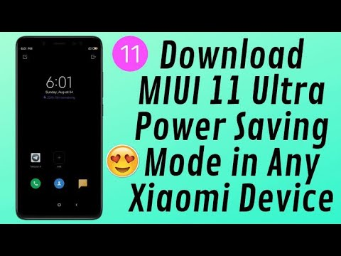 MIUI 11 ULTRA BATTERY SAVER MODE   ENABLE EXTREME BATTERY SAVER IN MIUI 11 Stable Global Update