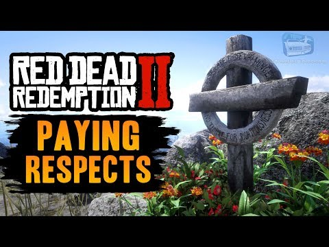 Red Dead Redemption 2 - All Grave Locations [Paying Respects Trophy / Achievement]