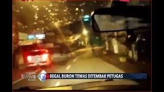 [Video Amatir] Detik-detik Penangkapan Begal Sadis, Pelaku Tewas Ditembak Polisi - BIM 08/08