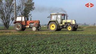 Das Jahr 2014 mit der ZT Schmiede Zechin - Fortschritt Landmaschinen im Einsatz
