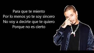 El Peor  -chyno Miranda, J Balvin