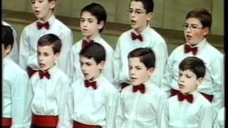 Escolania Escorial: Barcarola (los cuentos de Hoffmann) J. Offenbach