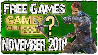 Xbox Games With Gold November 2018 Predictions / Xbox November 2018 Lineup