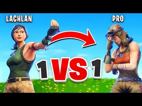 I Challenged a PRO Player to a 1v1 In Fortnite...