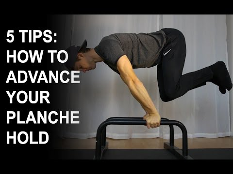 5 TIPS: HOW TO ADVANCE YOUR PLANCHE HOLD