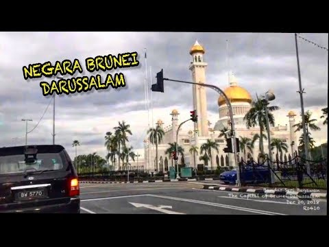 Cruising at Bandar Seri Begawan | The Capital of Brunei Darussalam