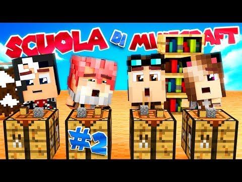 LA CLASSE DI CRAFTING - Scuola di Minecraft #2