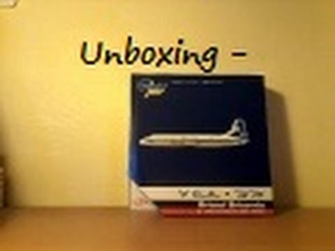 Unboxing - Gemini Jets 1:400 El Al Bristol Britannia 313