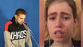 Самые смешные видео в мире Попробуй не засмеяться с водой во рту челлендж Тест на психику 2020 ч 1