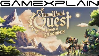 SteamWorld Quest: Hand of Gilgamech - Reveal Trailer! (SteamWorld RPG!)