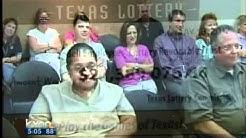 Texas Lotto winners claim their money