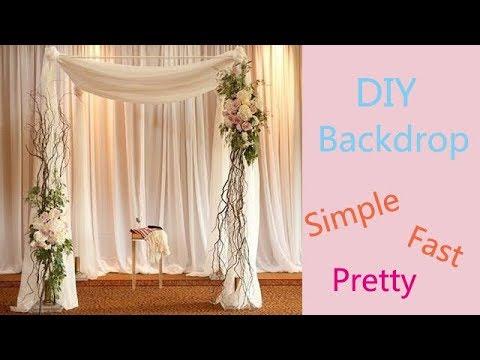 DIY Floral Backdrop / Wedding Arch / Wedding Decoration