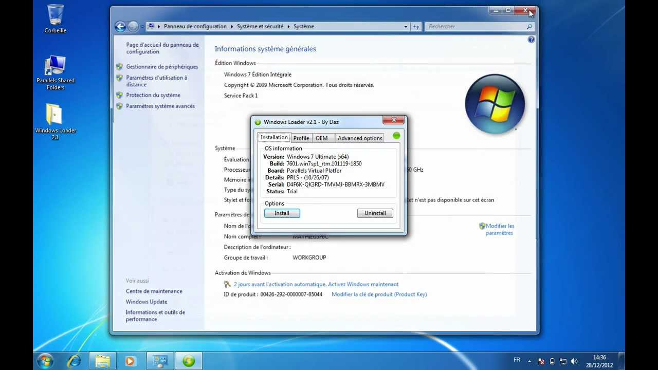 Windows 7 activation crack 1.9.2