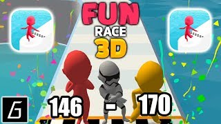 Fun Race 3D - Gameplay - Levels 146 - 170 - (iOS - Android)