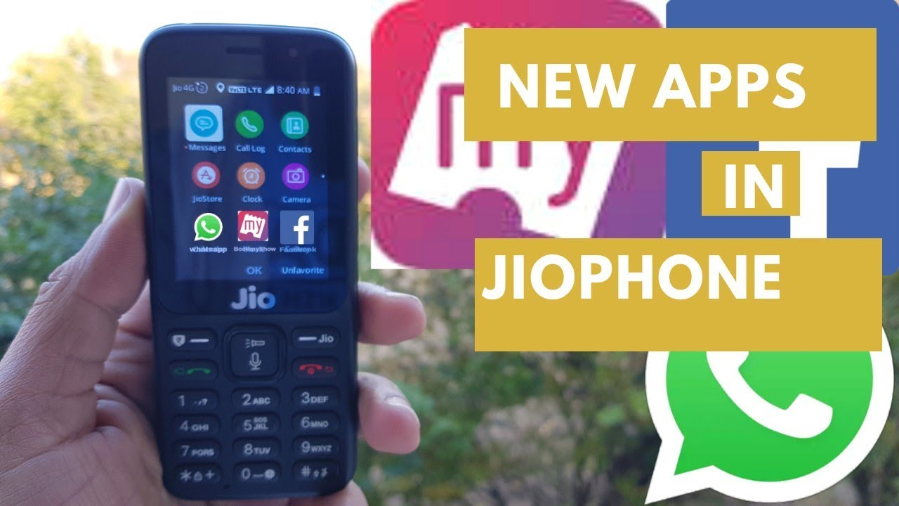 | how to install new apps in jio phone Whatsapp Bookmyshow Facebook JioChat  | Bookmyshow JioPhone |