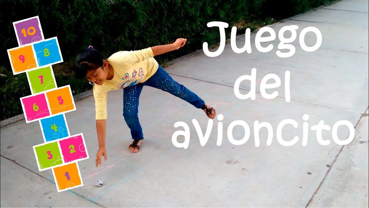 El Juego Del Avioncito Youtube