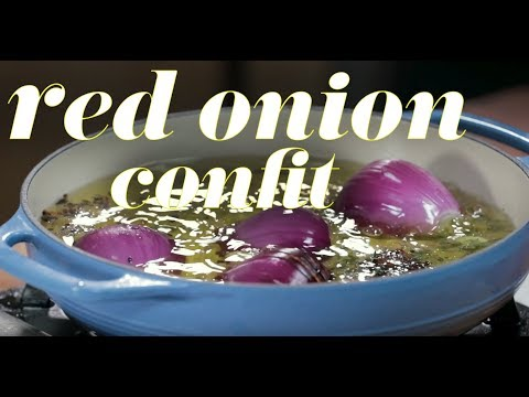 Red Onion Confit Recipe
