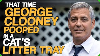 That Time George Clooney Pooped in a Cat's Litter Tray (Celebrity Demands and Riders)