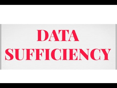 DATA SUFFICIENCY || bank exams || icet || sbi po