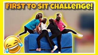 FIRST TO SIT CHALLENGE | Artistic Gymnastics CSB
