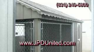 Video 7 -- K9 Castle Dog House, Dog Cage Dog Shed -- Farmingdale New York Jpd United