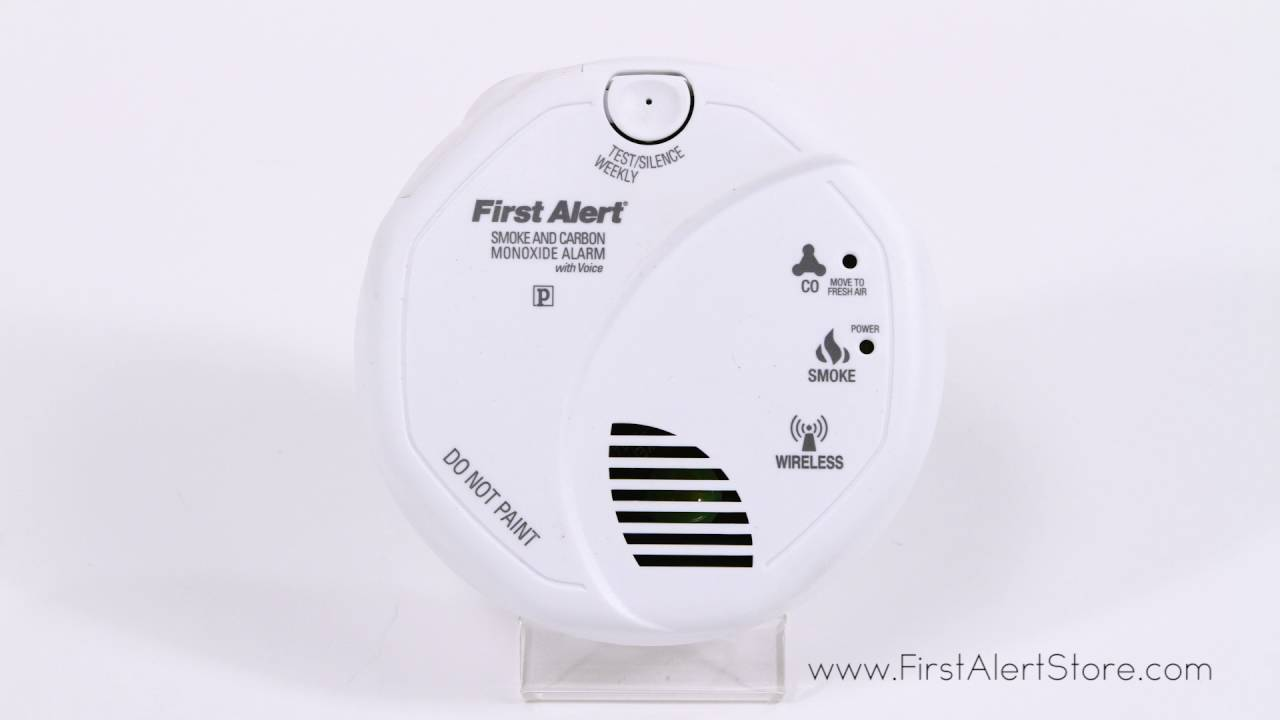first alert wireless talking battery smoke and co alarm sco501cn3st - First Alert Smoke Alarm
