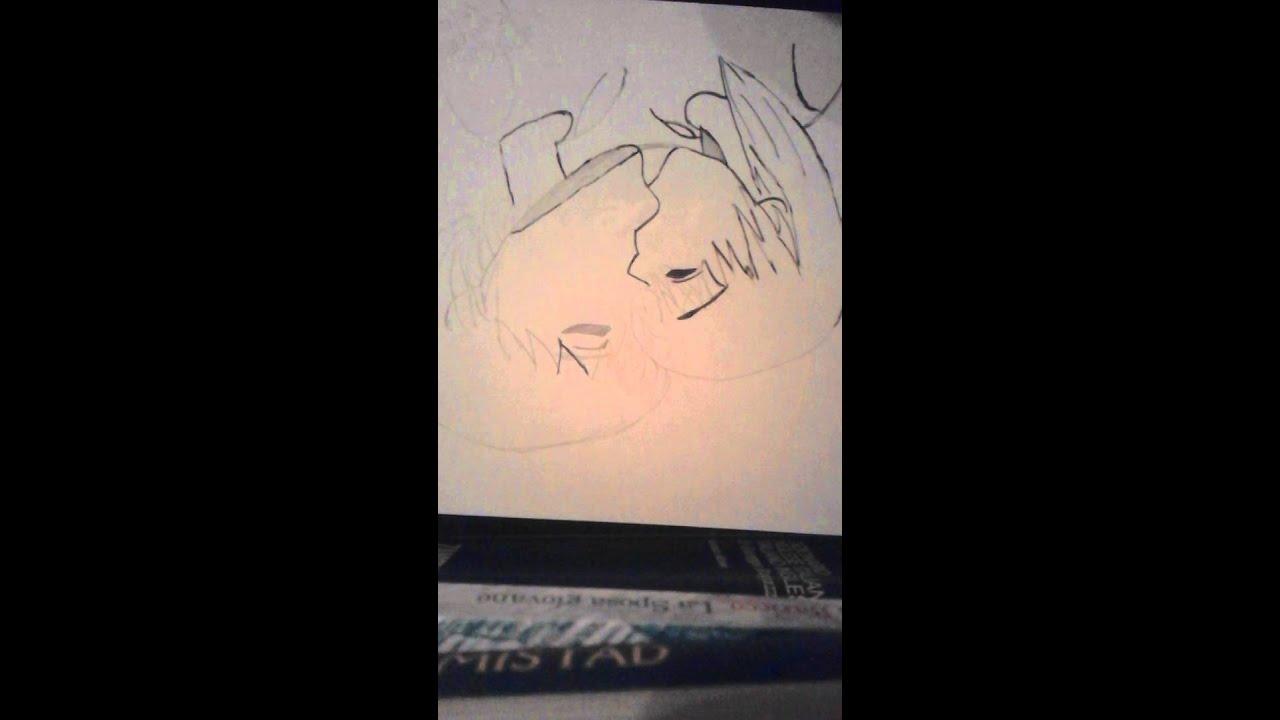 Come Disegnare Due Persone Che Si Baciano 2 Youtube