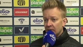 12.1. TUTO - LeKi ottelun jälkeiset haastattelut