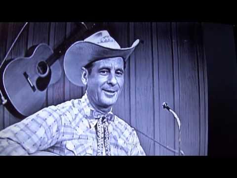 Cowboy Copas video--Going back to Alabam'