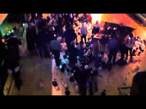 2012 balloon drop Indy Hyatt