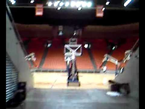 The Tunnel of The Don Haskins Center